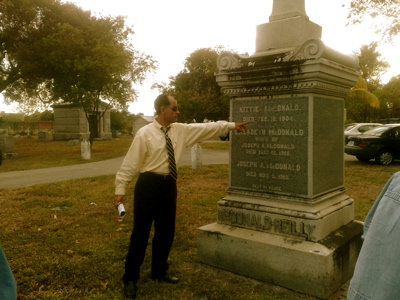 dr george at miami cemetery