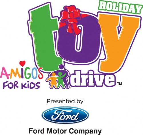 Amigos for kids holiday toy drive at el dorado furniture for Ford motor company charitable donations