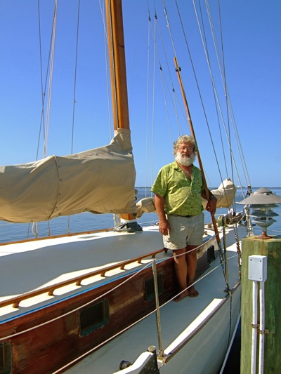 the Alondra sailboat
