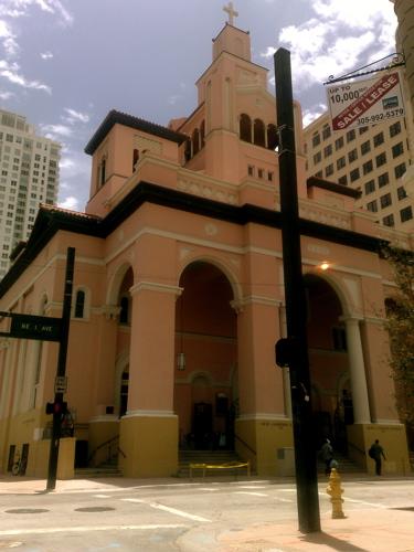 gesu catholic church downtown miami