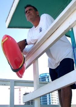 hot miami beach lifeguard