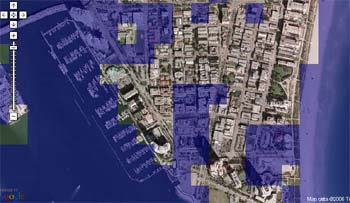 Google Maps Flood Mashup - Miami Beach 411