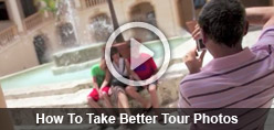 How to take better tour photos