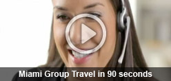 Miami Group Travel in 90 seconds