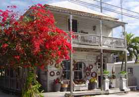 Flower Shop in Key West, Florida