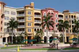 Bayfront Condos on the water in Old Town Naples, FL.