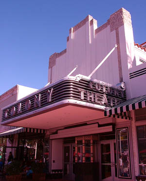 Colony Theatre in South Beach, Miami