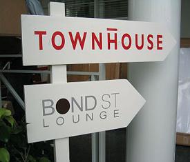 Bond Street In South Beach
