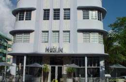Marlin Hotel on Collins Avenue