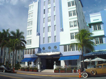 Park Central Hotel on Ocean Drive
