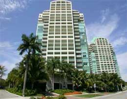 Ritz Carlton Coconut Grove Hotel on Collins Avenue
