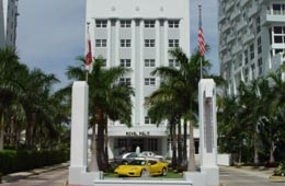Royal Palm Hotel on Collins Avenue