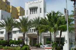 Doubletree Surfcomber Hotel on Collins Avenue