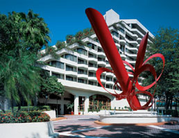Wyndham Coconut Grove Hotel on South Bayshore Drive