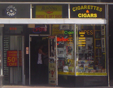 Aladdin Smoke Shop in Miami Beach, Florida